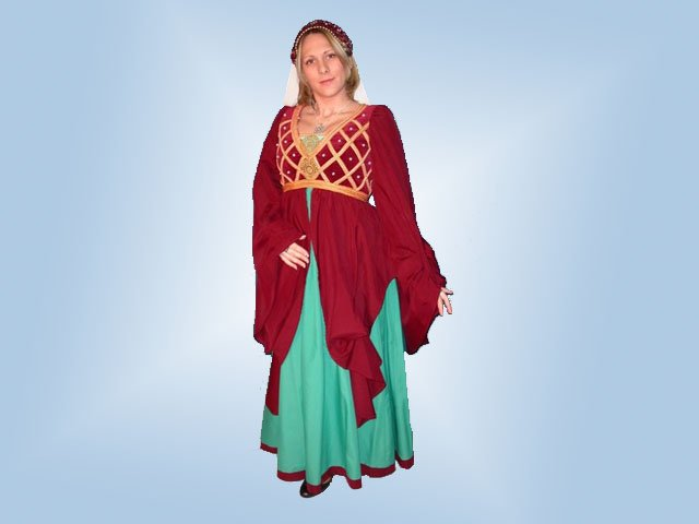 Kor ruhák   Olasz reneszánsz női öltözet 37e9ae41fd